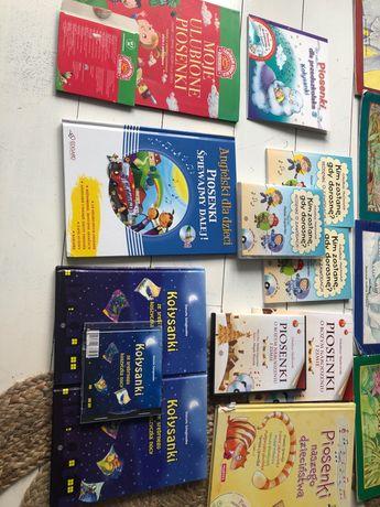 Książeczki z płytami dla dzieci