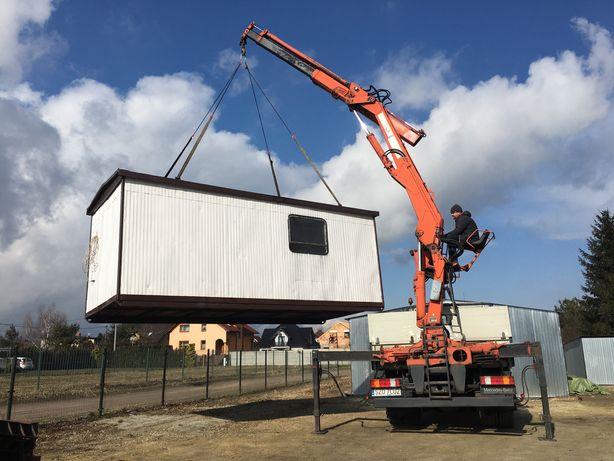 Usługi transportowe HDS dźwigowe transport węgla kruszywa Żory Rybnik