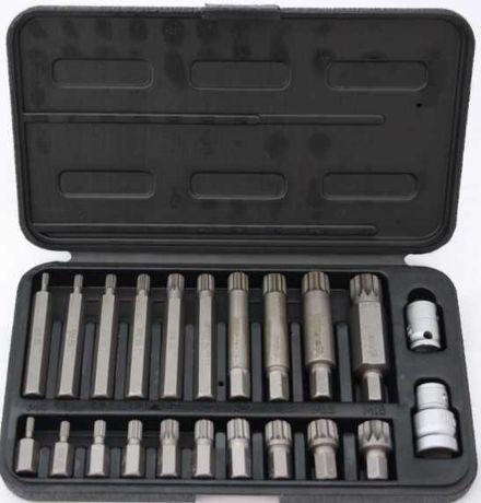 Jogo de chaves Torx longas M4-M18  22 Peças - Portes Grátis!