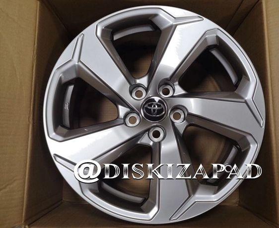 Новые диски R17 5x114.3 на Тойоту Рав4 Toyota Rav4 NEW CHR