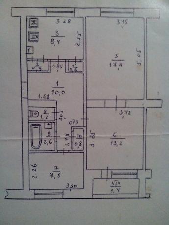 Продам 3-и кімнатну квартиру