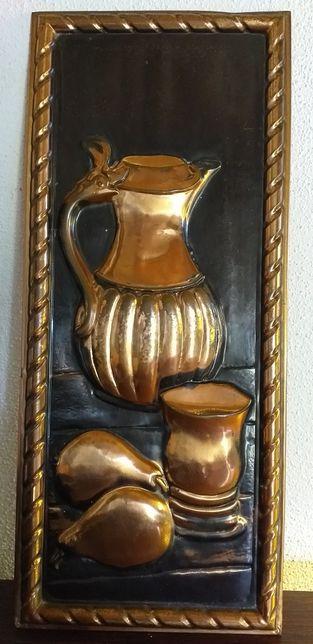 Quadro holandês em cobre