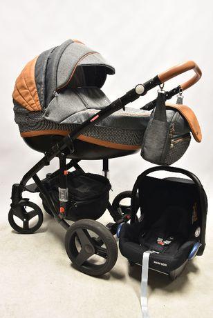 Adamex Vicco Carmel 3w1 z fotelikiem Maxi-Cosi Cabriofix MEGA STAN!