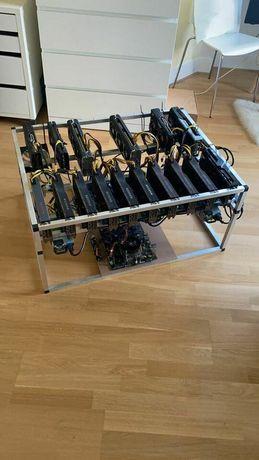 Mining Rig com 16 AMD RADEON RX 5700 XT