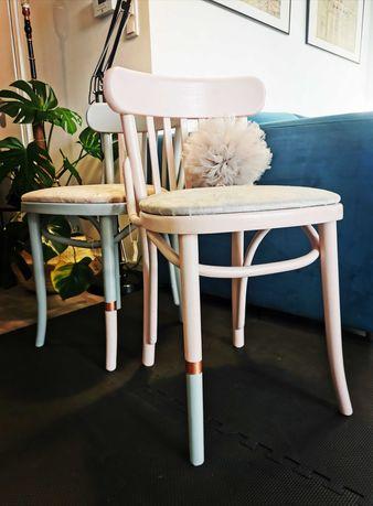 2szt. Krzesła po renowacji, vintage, retro, PRL
