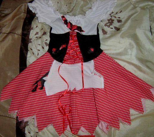 Детские костюмы для девочки маскарад карнавал Хеллоуин от 3 до 10 лет