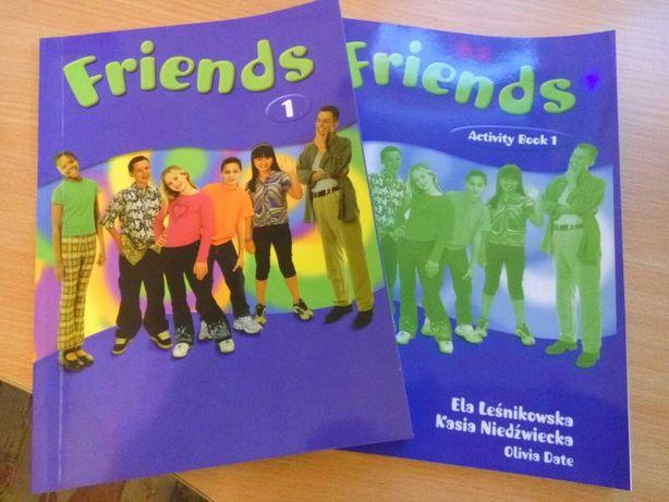 Friends 1,2 учебники и тетради