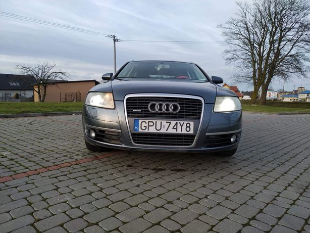 Audi  A6C6 3.0 quatro mozliwa zamiana