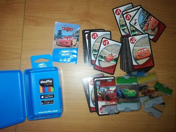 Shuffle cards Cars