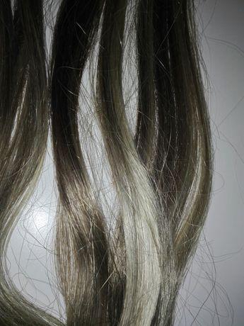 Syntetyczne włosy doczepiane, dopinki, przedłużane