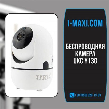 Беспроводная поворотная IP камера WiFi microSD UKC Y13G 1mp