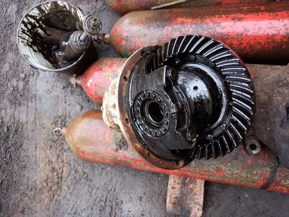 ГАЗ 66 двигун коробка редуктор полуось роздатка колеса кулаки ресори Львов - изображение 1