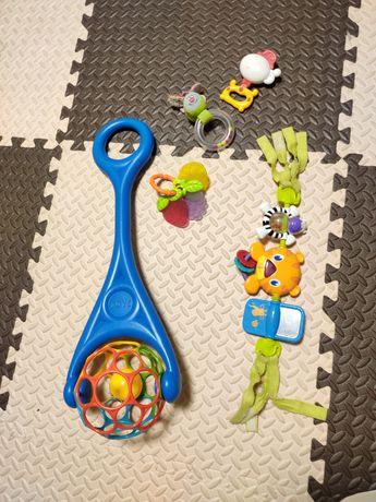Каталка o'ball дуга bright starts погремушки игрушки 1-2 года