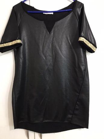 Tunika bluzka ozdobne rękawy