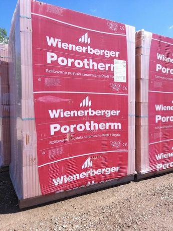 Pustak Wienerberger  porotherm 25 Profi / Dryfix - drewbudlas.pl
