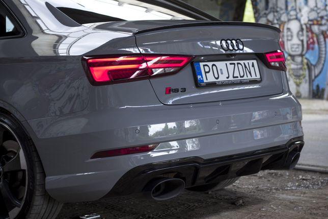 Audi RS3 Sedan WYNAJEM #pojeżdżone wypożyczalnia aut Poznań