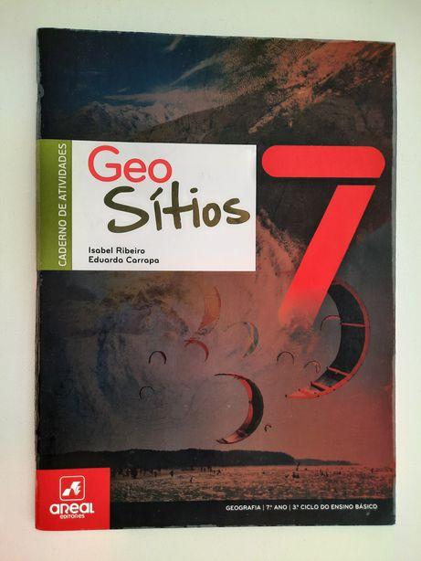 Geografia 7ºano Caderno Atividades GeoSítios7, areal editores
