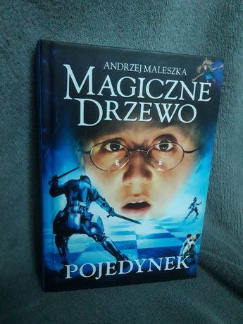 """Książka """"Magiczne Drzewo. Pojedynek"""" Andrzej Maleszka"""