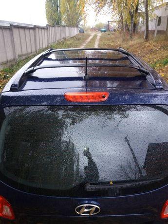 рейлинги на крышу оригинал Хюндай Санта Фе Hyundai Santa Fe