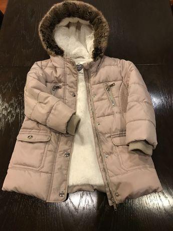 Kurtka zimowa dla dziewczynki rozmiar 104
