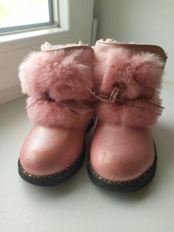 Зимові чобітки 23 розмір