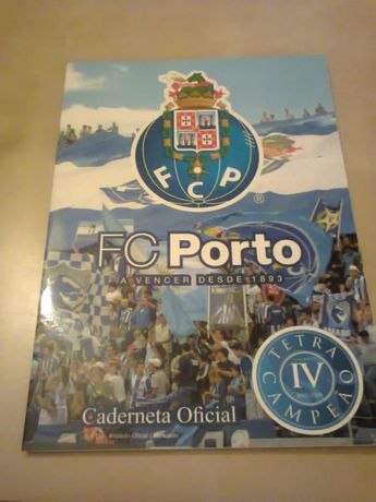 Caderneta de Cromos do F.C.Porto Tetracampeões Oficial(completa)
