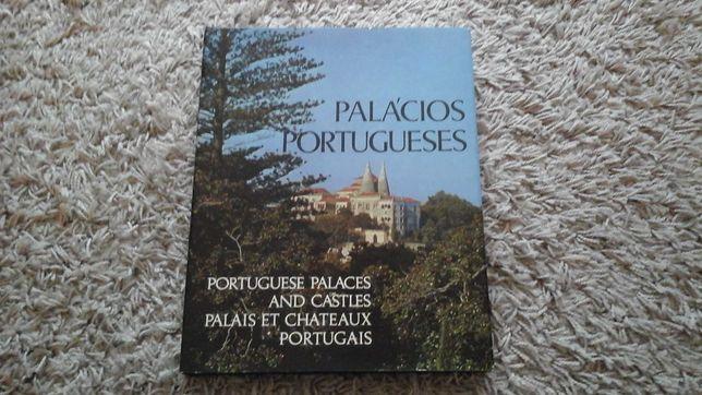 Livro Palácios Portugueses 1982 Raul Lino Capa Dura Como Novo