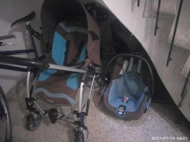 Carrinho de bebé e ovo , carrinho passeio