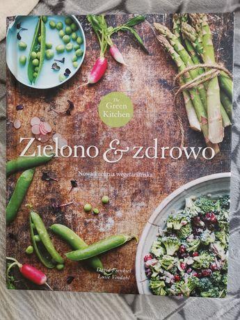 """Książka kucharska """"Zielono i zdrowo"""" nowa kuchnia wegetariańska"""