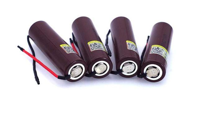 Аккумуляторы Liitokala HG2 18650 высокотоковые
