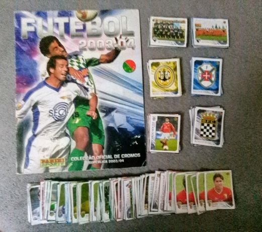 Cromos Futebol 2003/04 - Recuperados