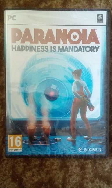 Paranoia Happiness is mandatory PC