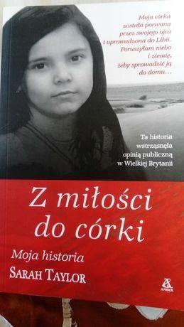 Książka Z miłości do córki Sarah Taylor