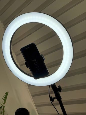 ХИТ ПРОДАЖ Кольцевая лампа, 36см лампа для селфи, лампа для визажистов