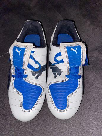 Korki niebiesko białe puma
