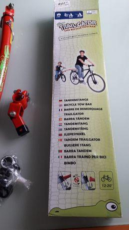 Barra de Tracao Bicicleta Trial Gator