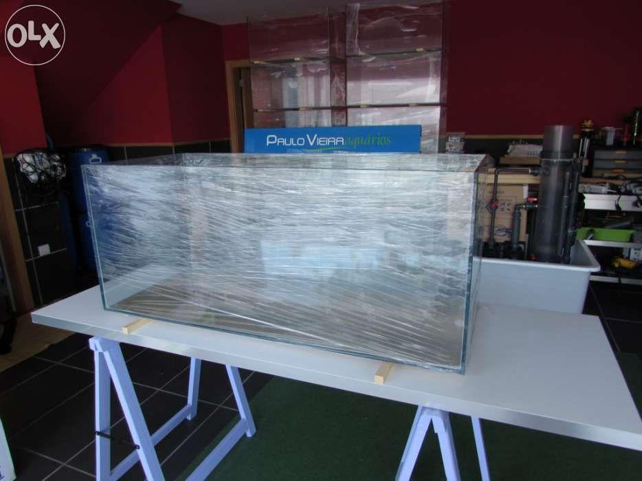 Aquário novo 150 x 50 x 50 em vidro 12mm