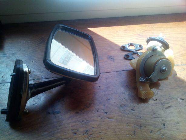 Зеркало боковое заднего вида и кран печки 2101-2106