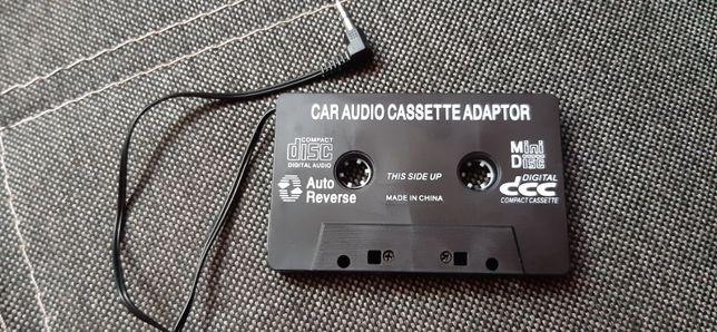 Kaseta Adapter AUX MP3, adapter do radia na kasety Jack 3.5mm