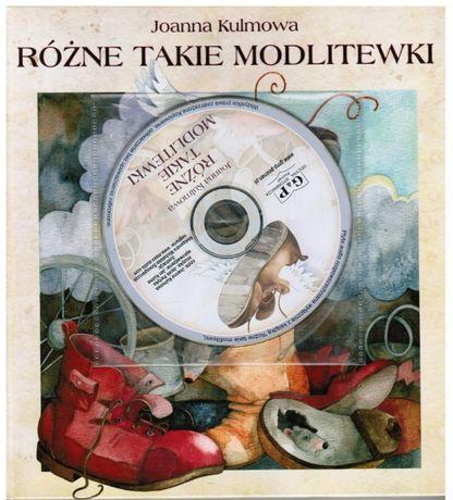 Różne takie modlitewniki, książka z wierszami+cd, Joanna Kulmowa