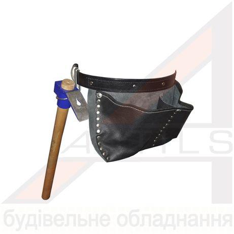 Сумка для инструментов кожаная, Турция, Поясная сумка для инструментов