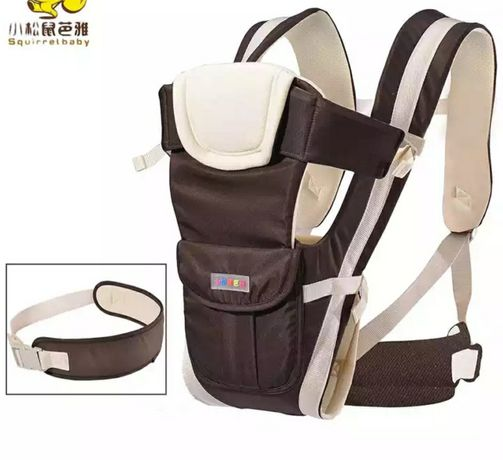 Дышащий рюкзак-кенгуру для переноски ребенка 4 в 1