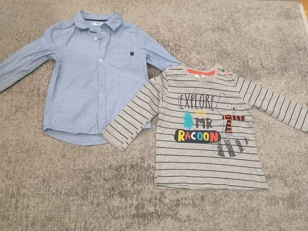 Bluzka i koszula 86cm Baby