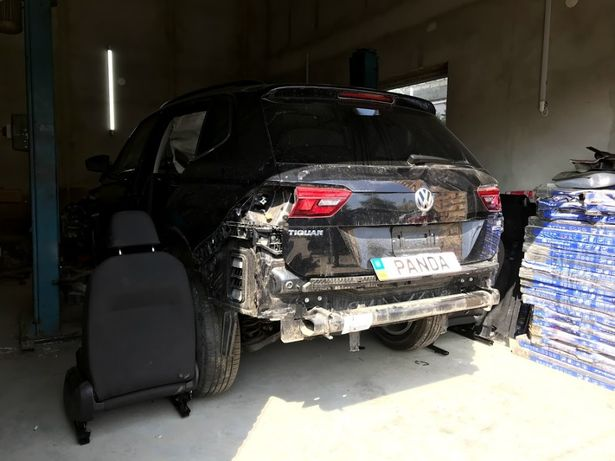 VW Tiguan Allspace USA разборка 2018 2.0tsi 7 мест LC9X 5NA НАЛИЧИЕ!