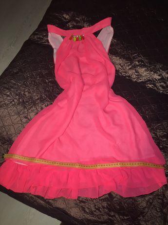 Платье летнее розовое женское Сукня жіноча рожева Одяг Лето