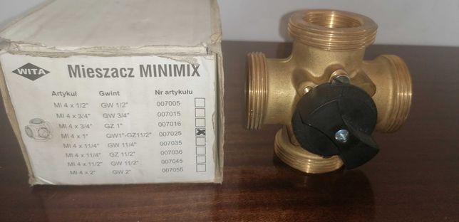 """Zawór mieszający Wita Minimix mieszacz czterodrogowy GW 1"""" -GZ 1 1/2"""""""