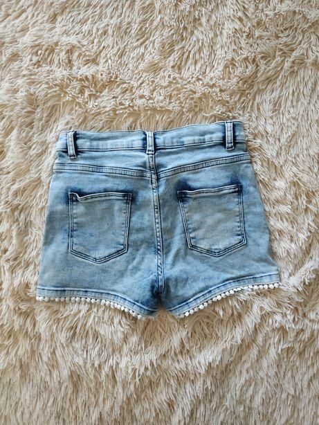 Шорты котон джинс на 10-11лет
