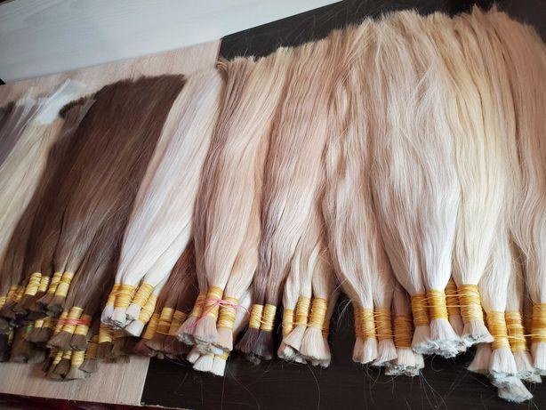 Волосся для нарощування блонд словянка