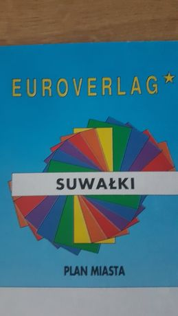 Suwałki. Plan miasta. Euroverlag