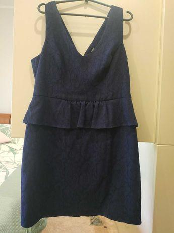 Фирменное дорогое гипюровое платье oasis на наши 50-52-54р идеал сост